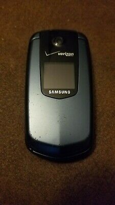 Samsung Smooth SCH-U350 - Blue (Verizon) Basic Flip Phone Clean ESN for sale  Acworth