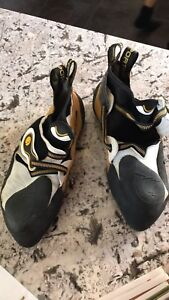 La sportiva climbing shoes- men's size 43