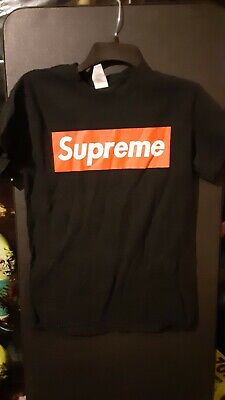 Mens SUPREME BOX LOGO T SHIRT SIZE SMALL