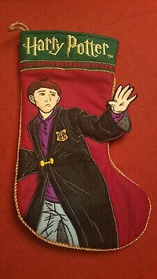 Harry Potter 2001 Ron Weasley 3D Christmas Stocking Warner Brothers Enesco 99372