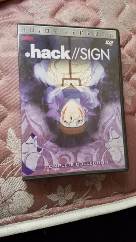 .hack SIGN - The Complete Collection (Anime Legends) Bandai R1 *RARE OOP*
