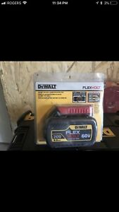 Dewalt 6.0 flexvolt battery BNIB