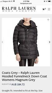 Ralph Lauren Women's Down Funnelneck Winter Jacket XS-S $200 OBO