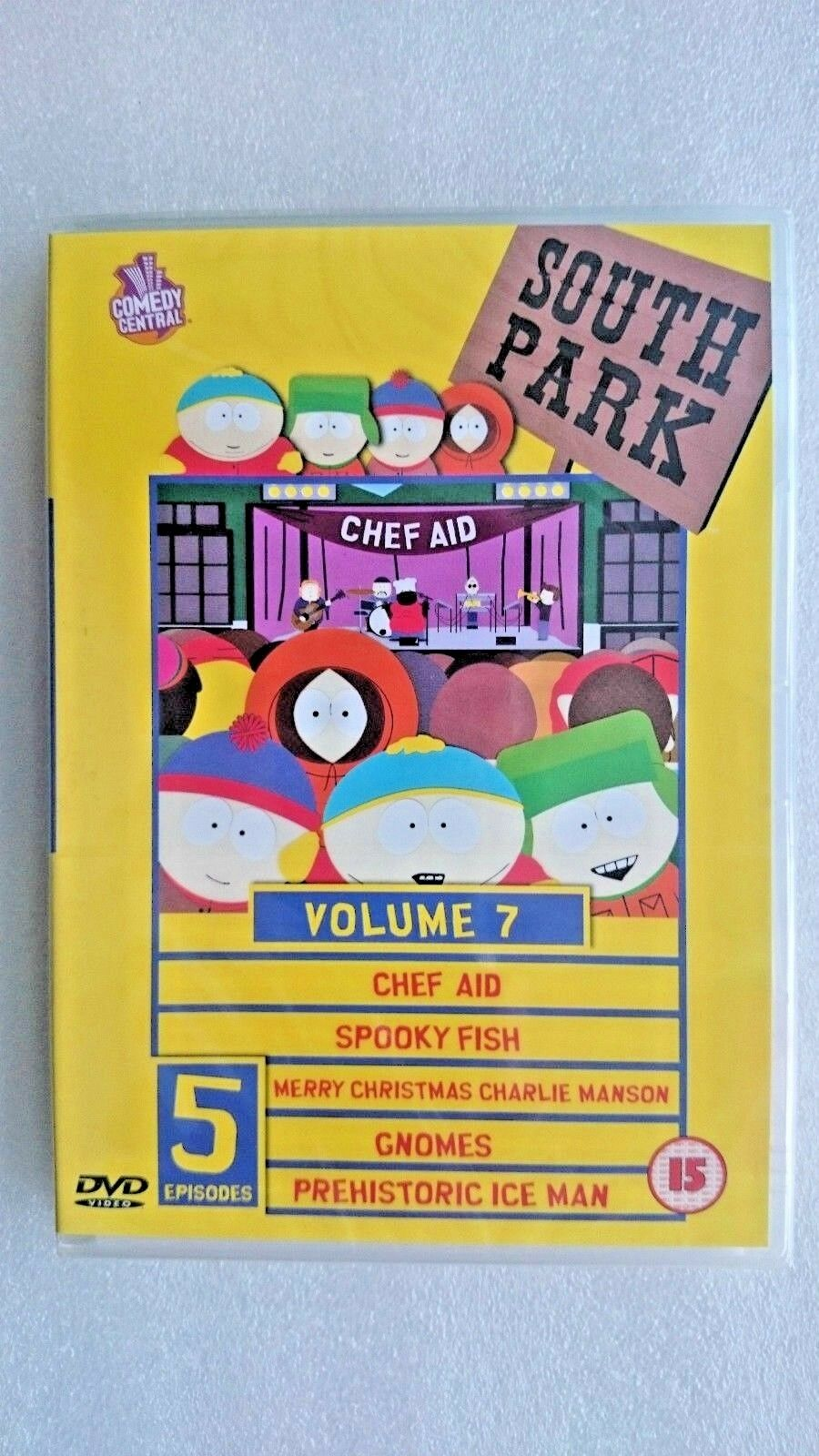South Park Vol.7 (DVD, 2000) - NEW and SEALED