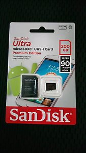 Sandsik 200gb microsd card Chermside Brisbane North East Preview