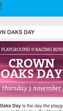 Melbourne cup week( crown oaks tickets) Kotara South Lake Macquarie Area Preview