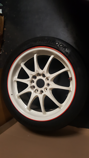 Rays Ce28 17x7.5 + 50 Time Attack Edition