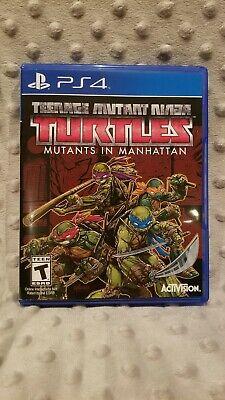 Teenage Mutant Ninja Turtles: Mutants in Manhattan PS4 game PlayStation 4 TMNT