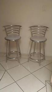 2 X MATCHING SWIVELING STOOLS Goodna Ipswich City Preview