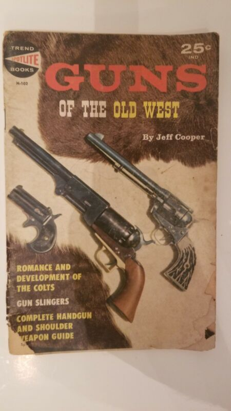 Vintage Trend Books  Guns of the Old West Jeff Cooper H-102 magazine