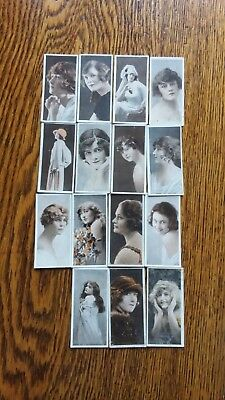 VINTAGE IMPERIAL TOBACCO COMPANY OF CANADA TRADING CARDS FILM FAVORITES (15)