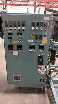 1.0 Davis Standard Single Screw Plastic Extruder 241 - 11 Heating Zones 3ph