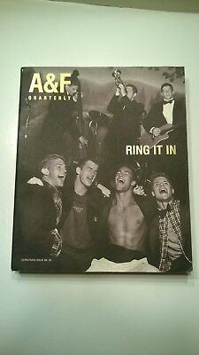 ABERCROMBIE & FITCH QUARTERLY Christmas 1998 Ring It In BRUCE WEBER