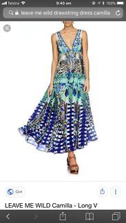 Camilla drawstring dress xs