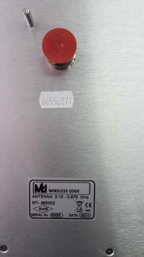 MTI WIRELESS MT-485002 5.15-5.875 GHZ 23DBI LINEAR V/H POLARITY DIR. ANTENNA