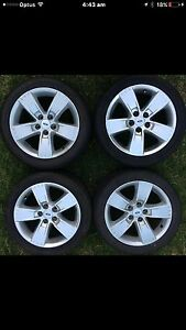 Ford falcon XR6 BA BF standard wheels rims Keilor Downs Brimbank Area Preview