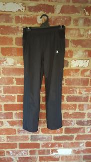 Adidas Slim Black Track Jogger Pants - Youth M - Free Post!