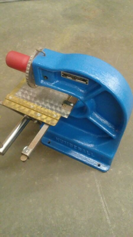Numberall Stamp and Tool 40b Stamping Machine Numbering Lettering Press