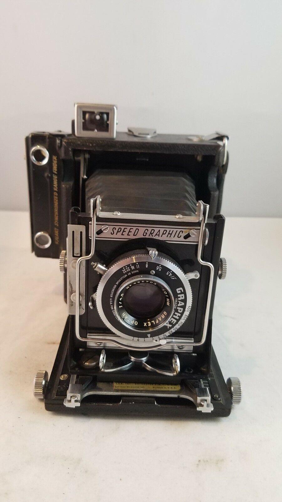 Vintage Graflex Speed Graphic Camera - $250.00