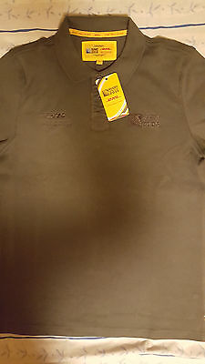Dhl Rugby World Cup 2015 Polo Shirt Olive Large New W Tags Rare