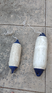 Boat fenders blow up bouys