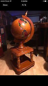 Deluxe Wood Globe