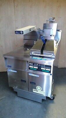 Pitco Ssh55c Solstice Supreme Gas 50lb Fryer W Spinfresh Filter Hot Holding