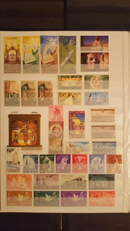 Briefmarken Ägipte Lot,postfrisch