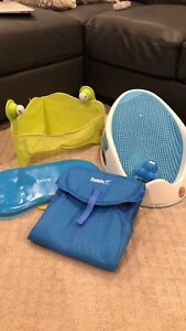 Used like new infant bath lot