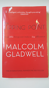 The tipping point by Malcolm Gladwell Camberwell Boroondara Area Preview
