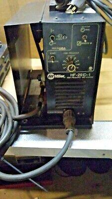 Miller Hf-251d-1 High Frequency Arc Starter Wrfc14 Foot Pedal Tig Torch Super