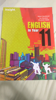 English in year 11 second edition (insight)