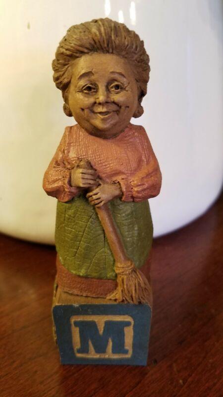 Rare - Edition# 1 - LETTER M for Mom - Tom Clark gnome -