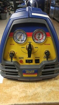 Yellow Jacket Recoverxlt Refrigerant Recovery Machine 95760