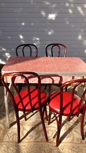 Retro Formica Dining table & chairs