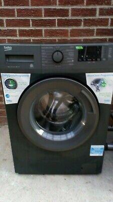 beko 7kg washing machine black barely used