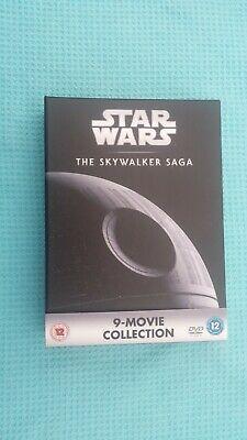 STAR WARS COMPLETE,THE SKYWALKER SAGA 1-9 DVD BOXSET.NEW (NOT SEALED)