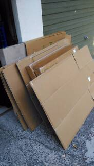 Moving boxes and packing material