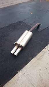 Stromung exhaust (axle back)
