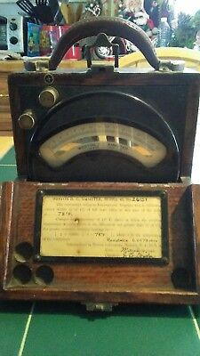Beautiful 1920s Western Electric Antique Amp Meter