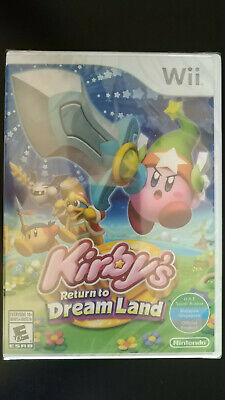 BRAND NEW - KIRBY'S RETURN TO DREAM LAND - NINTENDO WII - FACTORY SEALED
