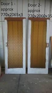 Sliding Wooden doors with Glass panel Amber Para Vista Salisbury Area Preview