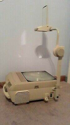 Portable Overhead Projector by Apollo Concept 2210 Folding Travel Homeschool!