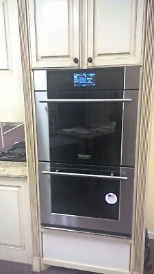 "Viking Professional Virtuoso 30"" Double Thermal Convection Oven -MVDOE630SS"