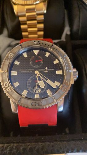 Ulysse Nardin Maxi Marine Diver Chronometer 43mm, Black Dial - watch picture 1