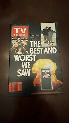 TV Guide Magazine June 30 1984 The Best & Worst We Saw. L.A. edition. UNUSED.