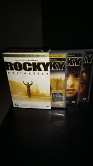 Rocky movies complete set