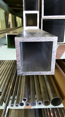 2 12 Aluminum Square Tube .250 Wall X 12