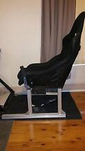 Aluminium T-Slot Race Simulator Rig with a bucket seat Adjustable Bexley North Rockdale Area Preview