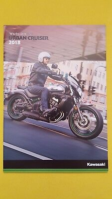 Kawasaki Vulcan S Cafe sales bike motorcycle motorbike brochure MINT 2018